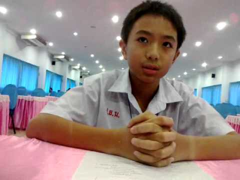 Interview of  Prathom 6 students at bangphli school by 3 teachers from different schools