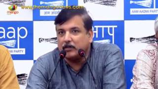 AAP Sanjay Singh Support To Meira Kumar in Presidential Elections 2017 | Mango News - MANGONEWS