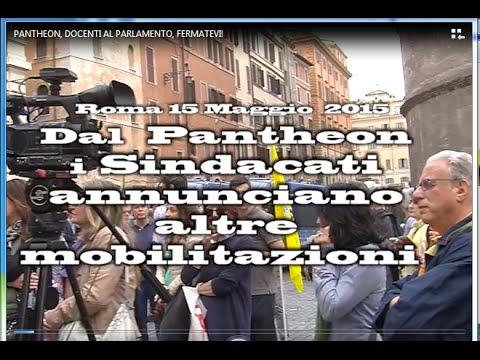 PANTHEON, DOCENTI AL PARLAMENTO: FERMATEVI!