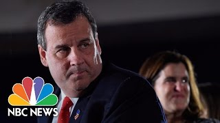 Chris Christie's 2016 Presidential Campaign: Remembering The Highs And Lows | NBC News - NBCNEWS