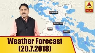 Skymet Weather Bulletin: Light showers to be witnessed by Uttarakhand, HP and Jammu Kashmir - ABPNEWSTV