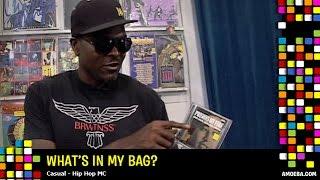 Casual vs. Amoeba - What's In My Bag? (Video)