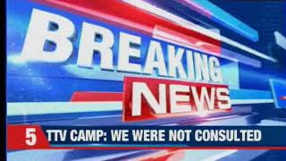 Cancel action against Sasikala: TTV Dinakaran camp to EPS - NEWSXLIVE
