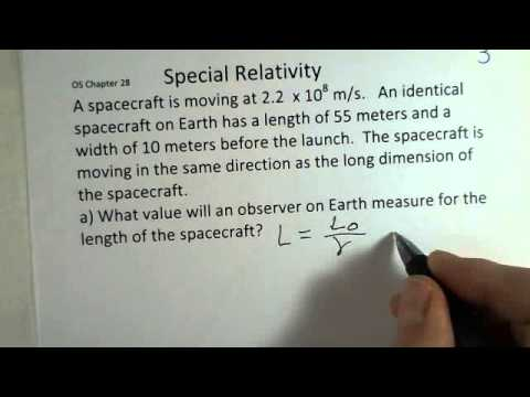 Special Relativity, Length Contraction