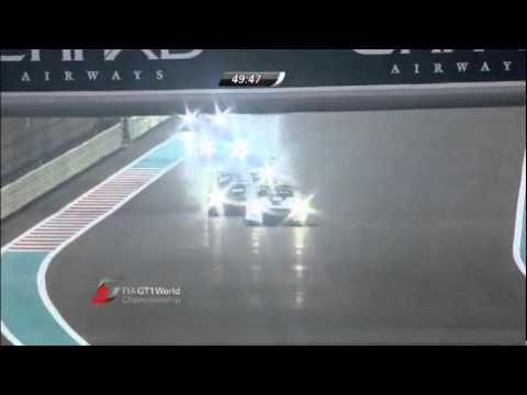 2011 FIA GT1 Rd1 Abu Dhabi Race2 (1/2)