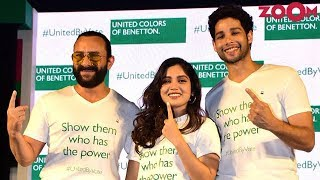 Saif Ali Khan, Bhumi Pednekar & Siddhant Chaturvedi appeal to young India to vote - ZOOMDEKHO