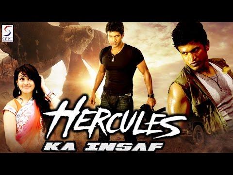 Hercules Ka Insaaf - Dubbed Hindi Movies 2016 Full Movie HD l Puneet Rajkumar, Hansika Motwani