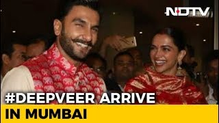Deepika, Ranveer's Homecoming After Italy Wedding - NDTV