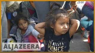 🇺🇸 Migrant caravan from Central America arrives at US-Mexico border | Al Jazeera English - ALJAZEERAENGLISH