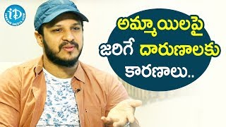 Actor Ping Pong Surya about Attacks on Women | Talking Movies With iDream - IDREAMMOVIES