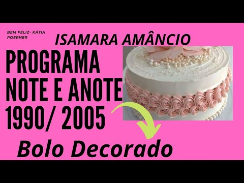 Bolo Decorado Isamara Amâncio