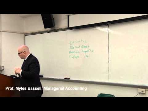 2 Managerial Accounting Basics - 2 Job Order Costing, Process Costing, Job Cost Sheet