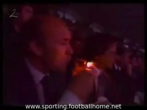 Sousa Cintra no Sporting - Bolonha de 1990/1991 UEFA