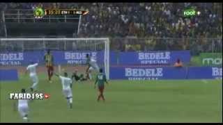 تصفيات كأس أمم أفريقيا 2015 : أهداف مباراة الجزائر اثيوبيا