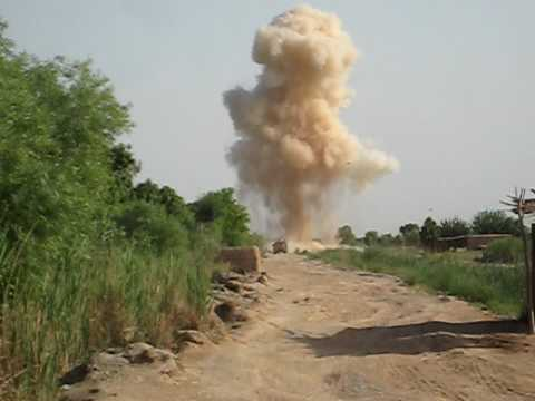Hitting an IED