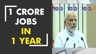 News 100: One crore employment have been given in last one year, says PM Modi - ZEENEWS