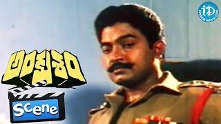 Ankusham Movie Scenes - Rami Reddy Meets Rajasekhar || Jeevitha || Babu Mohan || Kodi Ramakrishna - IDREAMMOVIES