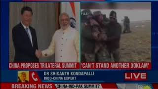 China proposes Trilateral summit, says we should have treaty for peace - NEWSXLIVE