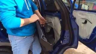 Opel Mokka- как снять обшивки дверей