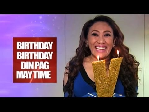 BIRTHDAY PAG MAY TIME : Ai-Ai Delas Alas