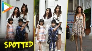 Aishwarya Rai Bachchan & daughter Aaradhya Bachchan spotted at Shilpa  Shetty's residence - HUNGAMA
