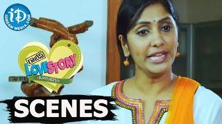 Routine Love Story Movie Scenes || Jhansi, Sanjay Reddy Comedy Fight Scene - IDREAMMOVIES