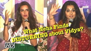 What Neha Dhupia Finds DISTURBING about Vidya Balan - IANSLIVE