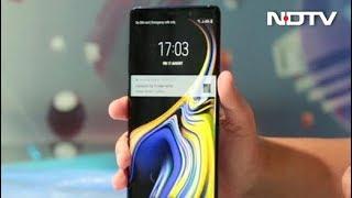 सेलगुरु: नए सैमसंग Galaxy Note 9 की अनबॉक्सिंग - NDTVINDIA