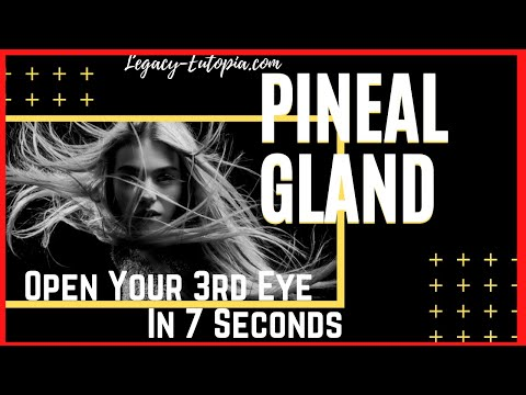 Open Your 3rd Eye 7 Second PINEAL GLAND EXERCISES
