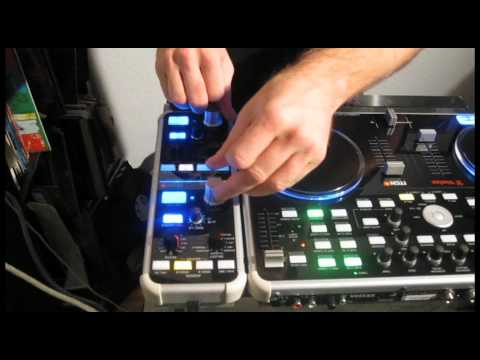 How to create a &quot;Dubstep Wobble Bassline&quot; with Vestax VCI300 and VFX1 Effect Controller