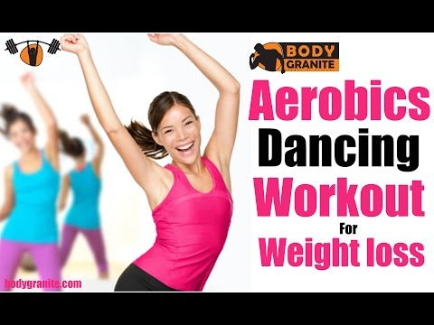 Aerobics Workout for Weight loss -  Aerobics Dancing Workout