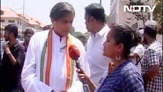 शशि थरूर के सामने बीजेपी ने उतारा के. राजशेखरन को - NDTVINDIA