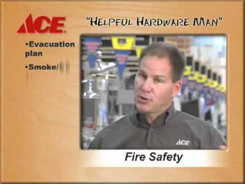 What are some fire safety tips?