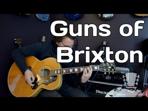 Guns of Brixton by The Clash - How to Play Guitar Lesson