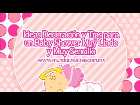 Organizar y Decorar un Baby Shower