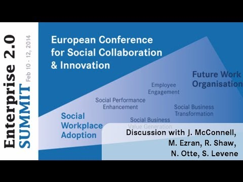 #e20s 2014 | Discussion: Digital Workplace Concepts & Trends