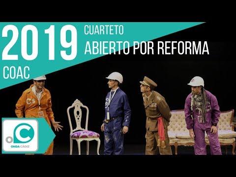 Sesión de Cuartos de final, la agrupación Abierto por reforma actúa hoy en la modalidad de Cuartetos.
