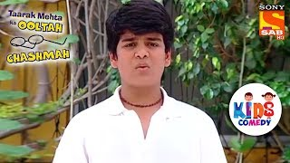 Tapu Quits Playing Cricket   Tapu Sena Special   Taarak Mehta Ka Ooltah Chashmah - SABTV