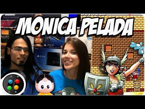 Monica no Castelo do Dragão - Master System (Monica pelada!)