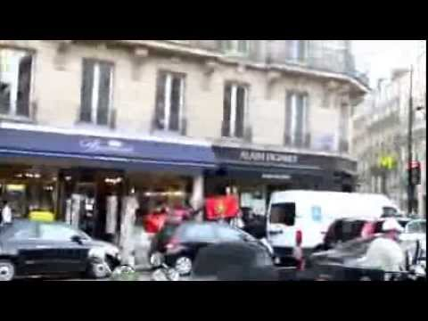 Srilankan defended by french police during ltte's attack in paris