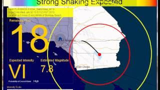 تطبيق جديد للتنبؤ بالزلازل قبل حدوثها