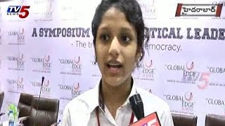 Global Edge School Students with Political Leaders : TV5 News - TV5NEWSCHANNEL