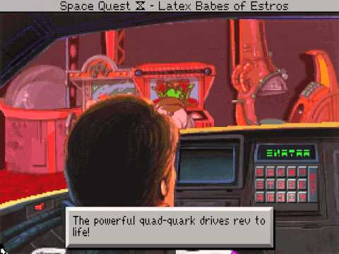 c-square's DOS Space Quest IV: Roger Wilco and the Time Rippers in 07:36.51