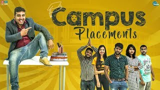 Campus Placements | Chill Maama || Tamada Media - YOUTUBE