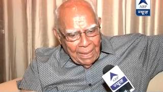 Centre trying to protect people with black money: Ram Jethmalani to ABP News - ABPNEWSTV