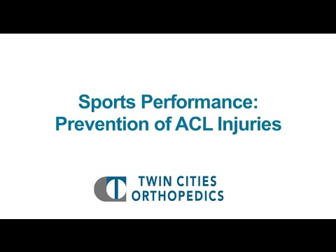 Sports Performance: Preventing ACL Injuries