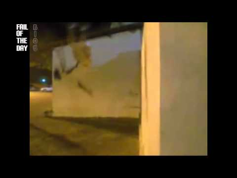 Wall backflip FAIL