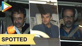 SPOTTED: Shashank Khaitan, Aanand L Rai, Siddharth Roy Kapur at Ritiesh Sidhwani;s house - HUNGAMA