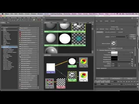 Maya - Mental Ray Nodes - Ambient Occlusion