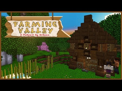 Minecraft Farming Valley - Getting Started! #1 [Mini Series]